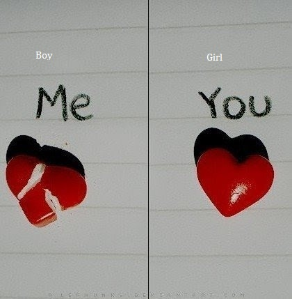 Senti Wallpapers With Quotes Have Fun After Break Up Boy Heart Vs Girl