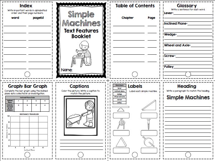 nonfiction features worksheet