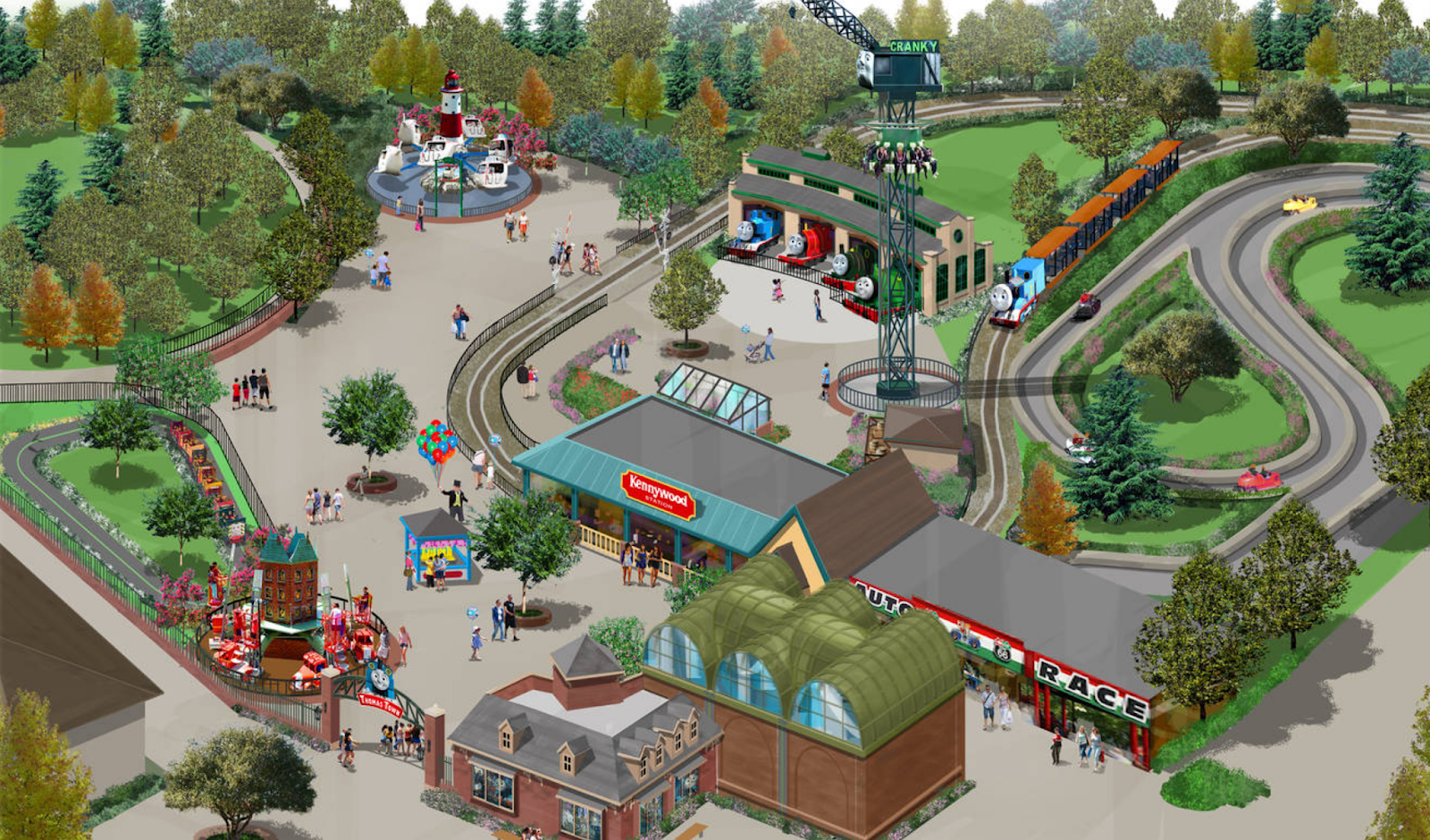 NewsPlusNotes: Kennywood Gives First Look at Concept Art for New ...