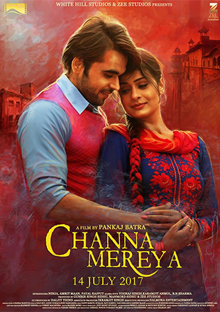 Poster of Channa Mereya (2017) Full Movie Punjabi 720p HDRip Free Download