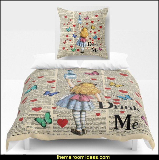 Drink Me - Vintage Dictionary Page - Alice In Wonderland