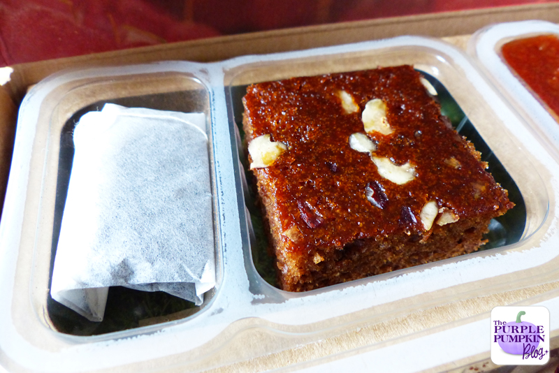 My 16th Graze Box! [Review] - banana cake with an afternoon infusion