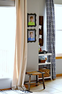 Looking for new curtains? Here are tips for making your own super easy DIY drop cloth curtains!