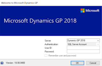 Dynamics GP 2018 is now Released