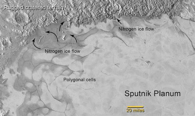 Geleiras aparecem em Plutão