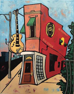 Darlene Newman | Sun Studio | 11x14 | $200