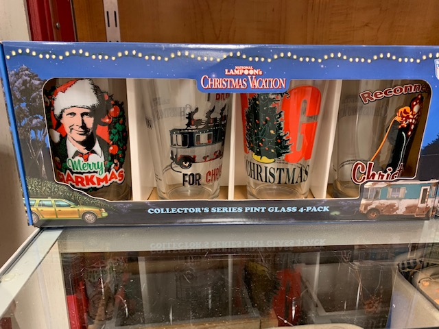 National Lampoons Christmas Vacation Glasses