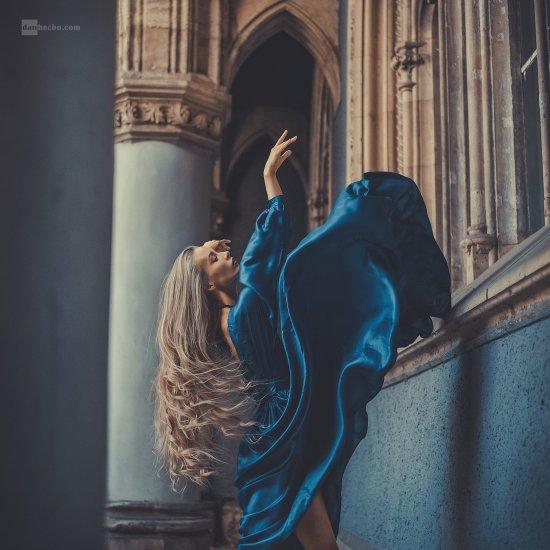 Dan Hecho 500px fotografia mulheres modelos azul fashion arte