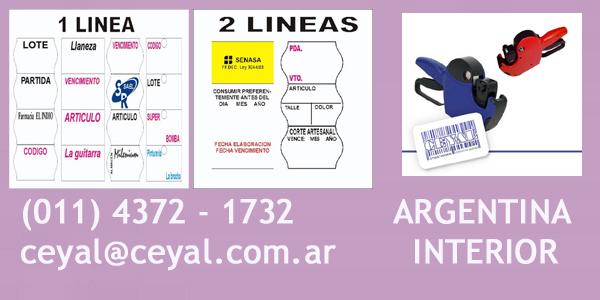 Codigo de barras imprenta Argentina