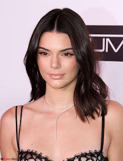 Kendall Jenner sexy Transparent gown Exposing bra panties