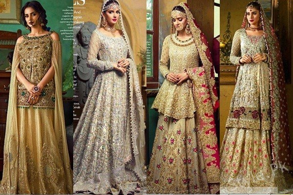 Hot & Sexy Pakistani actress Saba Qamar stuns in her latest bridal shoot for 'Vogue India'