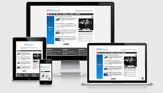 RT media theme template blogger