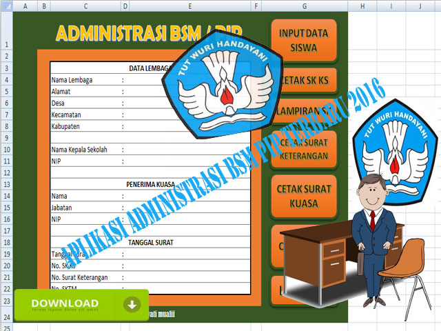 Download Administrasi Aplikasi BSM PIP 2016/2017
