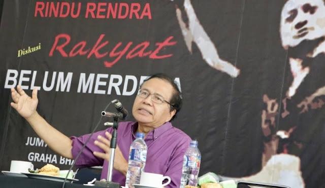 Rizal Ramli: Sri Mulyani Sudah Menyerah Selamatkan Rupiah