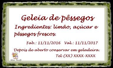 Geleia de pêssegos 9
