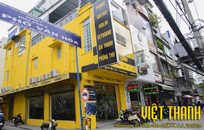 Cửa hàng bán đàn piano ở Tphcm