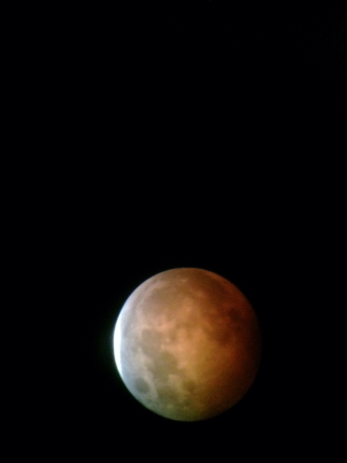 lunar eclipse iphone