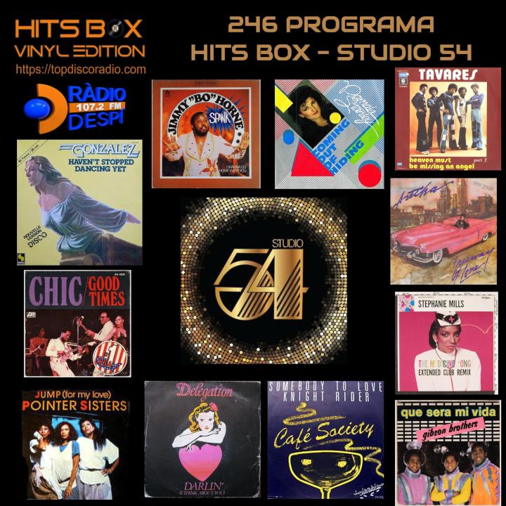 246 Programa Hits Bos Especial Studio 54