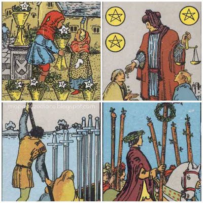 significado das cartas de numero 6 no tarot