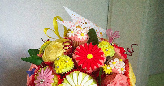 The cupcake bouquet
