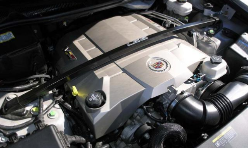 2020 Cadillac CTS V Sedan engine