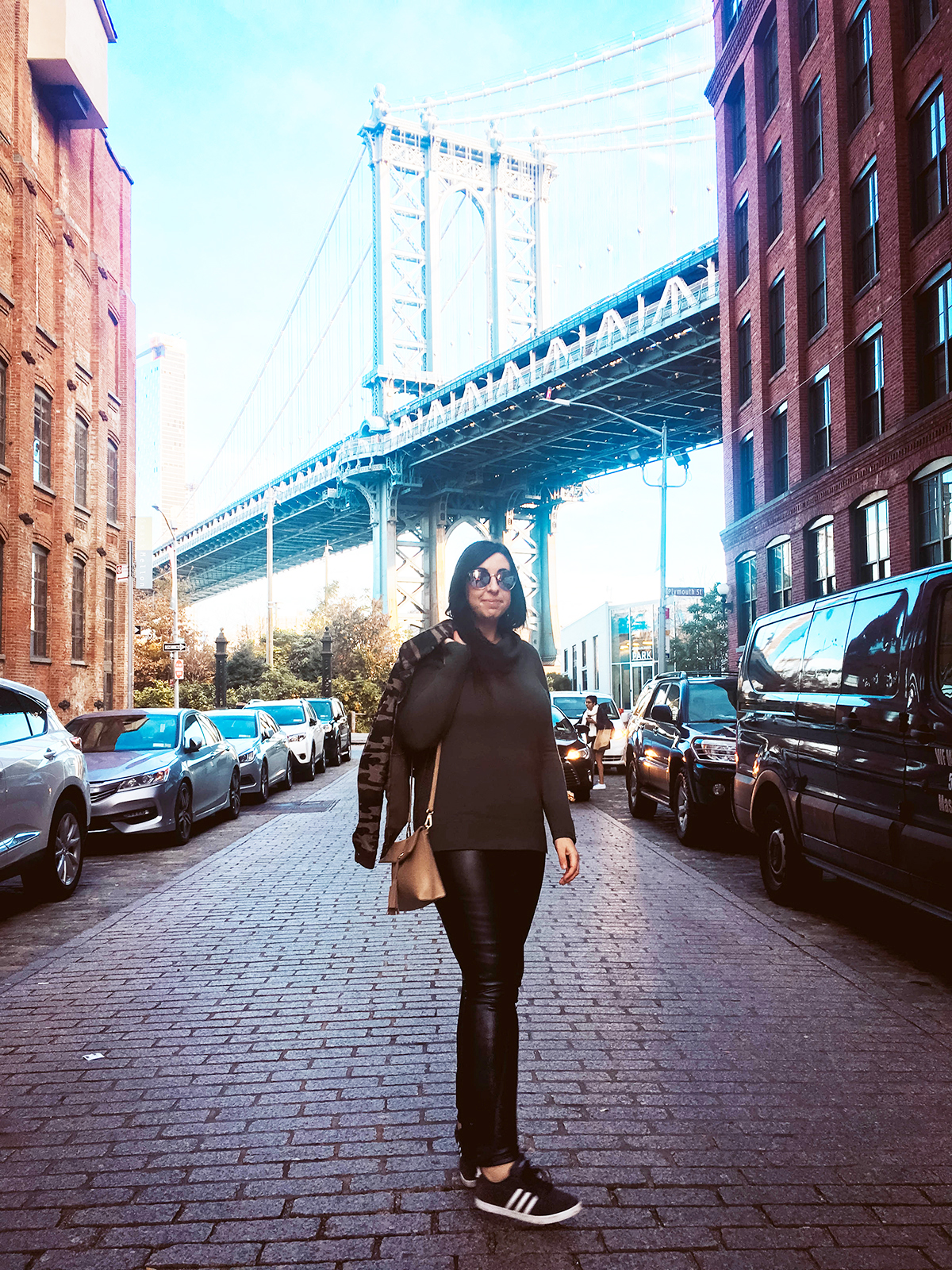 OOTD: Leather Leggings for the city + the country :: Effortlessly with Roxy