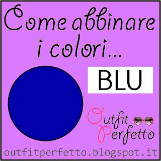 Come abbinare i colori: il blu