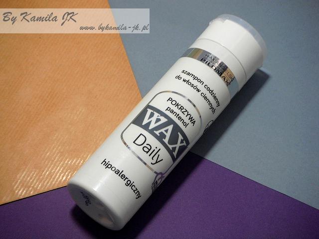 Pilomax WAX szampon  Pokrzywa do włosów ciemnych