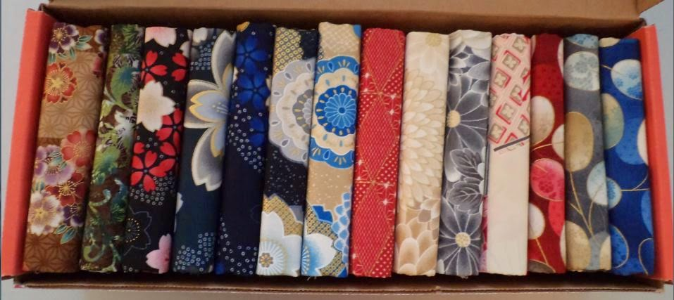Craftsy's Robert Kaufman Far East Mystery Box