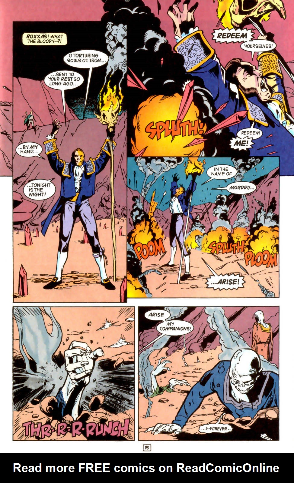 Legion of Super-Heroes (1989) 45 Page 14