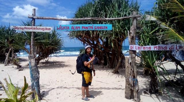 Pantai Sanglen Gunung Kidul Yogyakarta