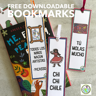 Free bookmarks in Spanish