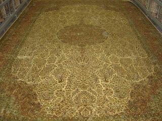 السجاد الحرير الكشميري