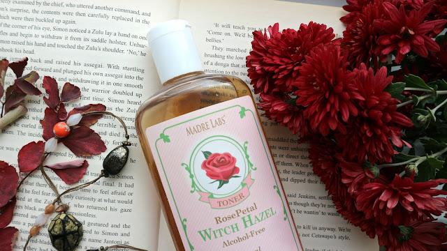 Madre Labs Тонер для лица с гамамелисом и лепестками роз