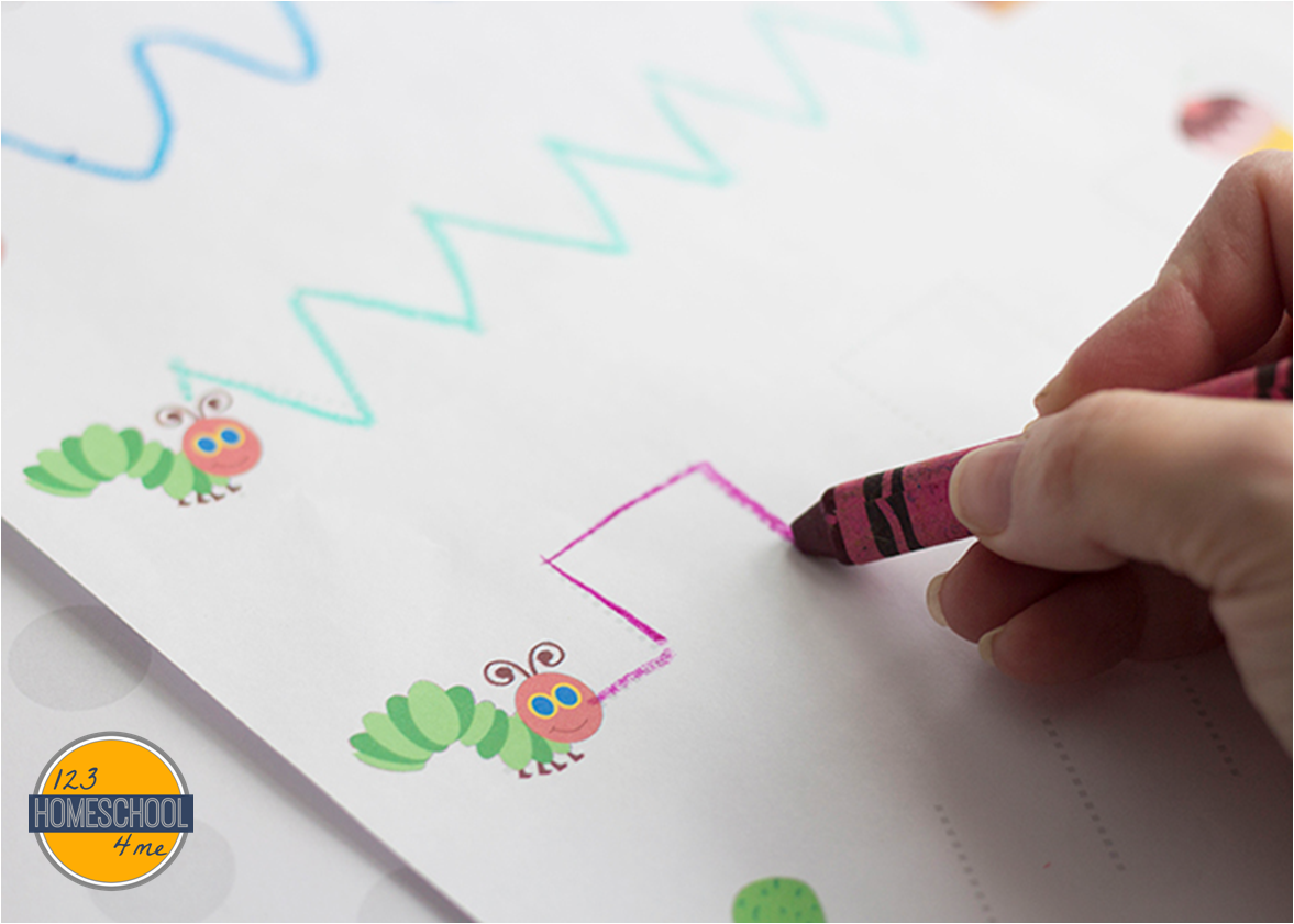 Free Hungry Caterpillar Worksheets For Kids