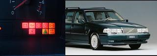 Cara membaca kode DTC Volvo 240,740,850,960 Tahun -1996 secara manual