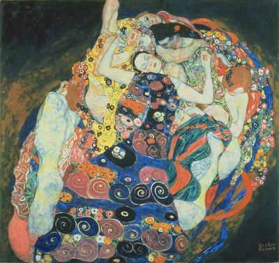 A Virgem - Gustav Klimt e suas pinturas ~ Pintor simbolista austríaco