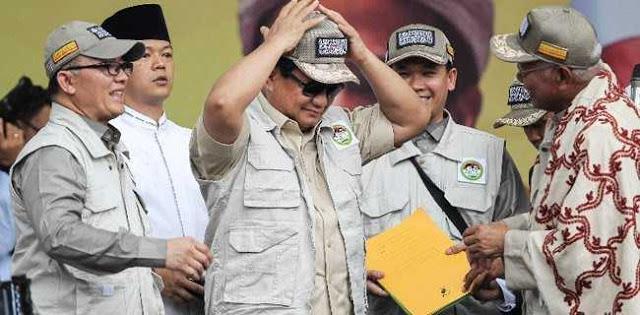 Hanya Media Partisan Yang Tersinggung Omongan Prabowo
