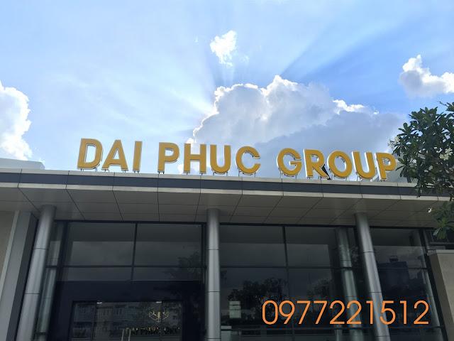 Thi công chữ inox mặt mica hut nổi tại Thủ Đức - TPHCM