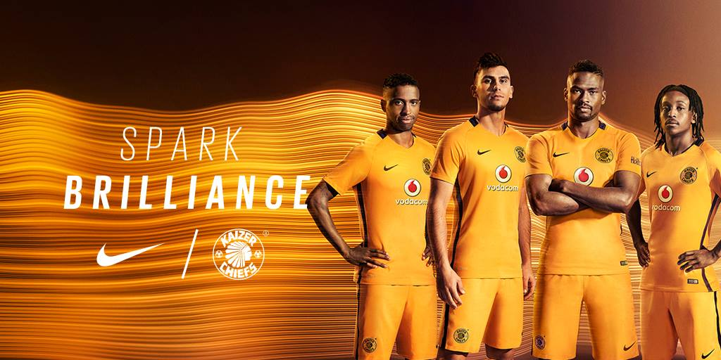kaizer chiefs 16 17 home kit released footy headlines