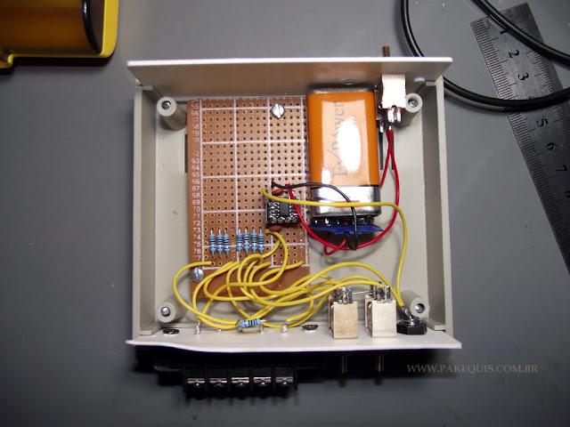 Montagem final do circuito