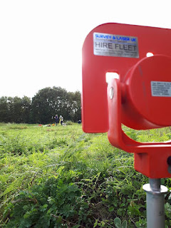 Topographic Survey Community Archaeology at Clipstone Peel in Sherwood Forest