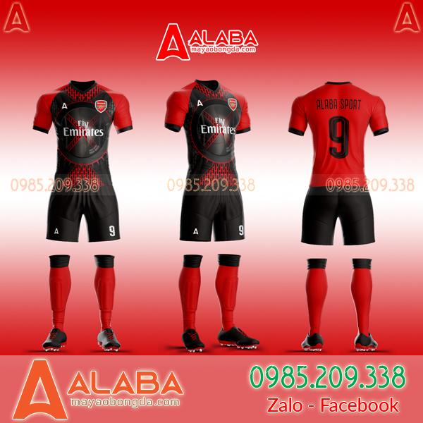 Áo CLB Arsenal tự thiết kế mã ARB AR06 lạ