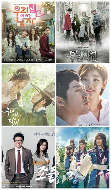 KBS月火劇-MBC月火劇-SBS月火劇-tvN月火劇