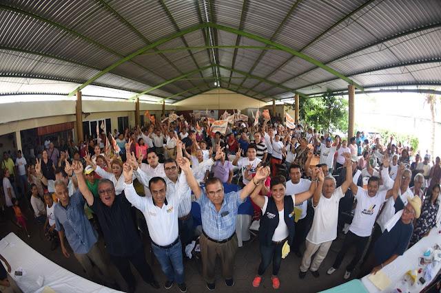 Estructura de Vía Veracruzana  se vuelca a favor de Mariely Manterola