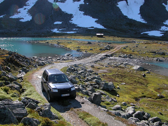 Land Rover Gletscher off road 4x4