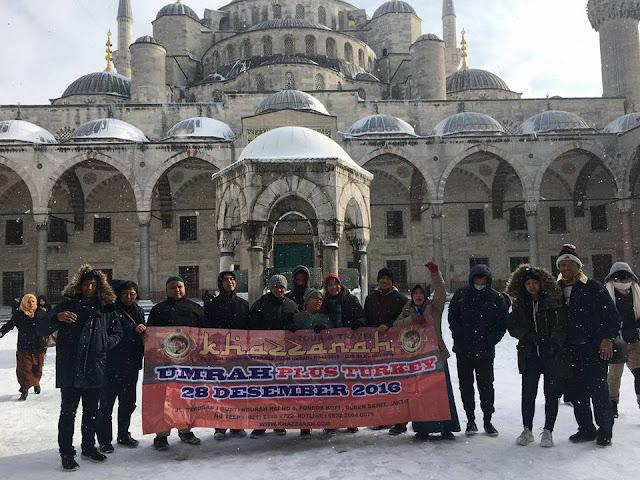 Jamaah Paket umroh plus Turki Desember