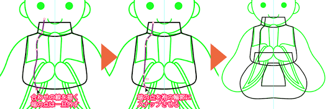 袍の描き方03
