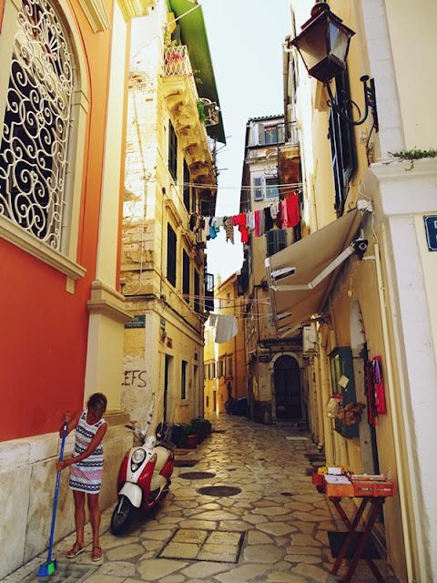 Kerkira Stare Miasto