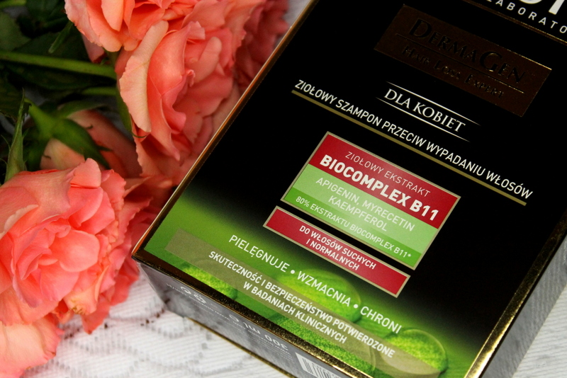 Bioxsine DermaGen for Women szampon przeciw wypadaniu włosów